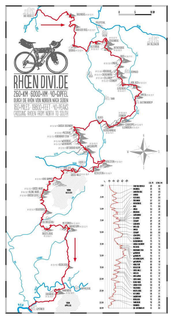 Rhoen-Divide-Karte