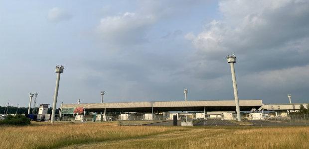 Der Grenzübergang bei Helmstedt