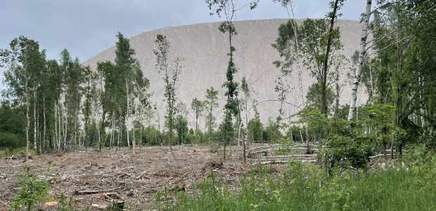 Monte Kali im Kalirevier Werra